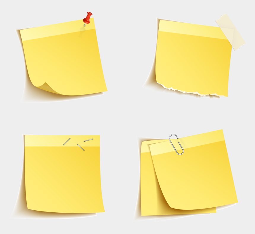 post-it note clipart, Cartoons - Png Post It Note - Construction Paper