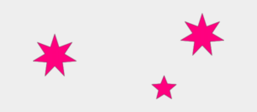 pink stars clipart, Cartoons - Stars Clipart Vector - Blue Southern Cross Stars