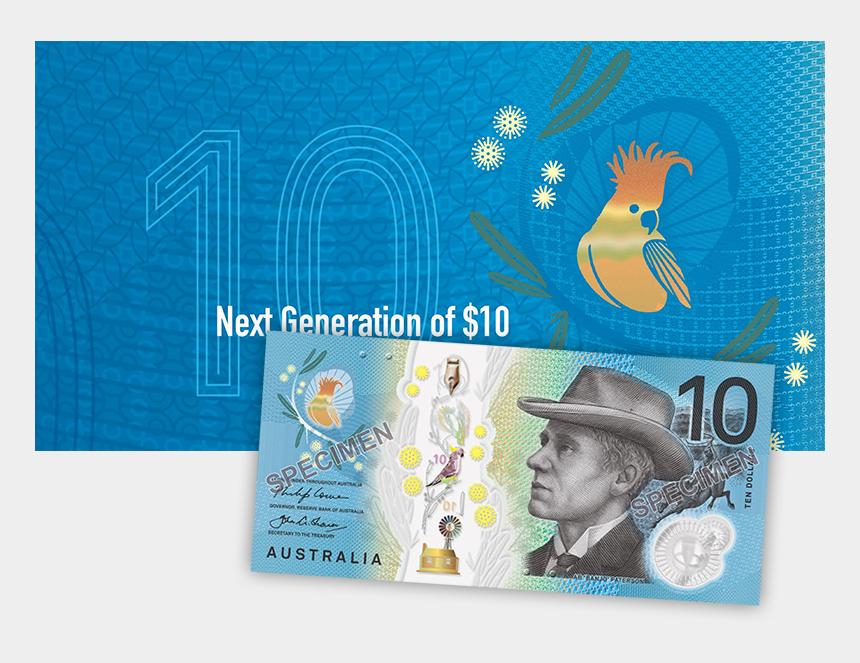 10 dollar bill clipart, Cartoons - 10 Dollar Bill Png - New 10 Dollar Note Australia 2017