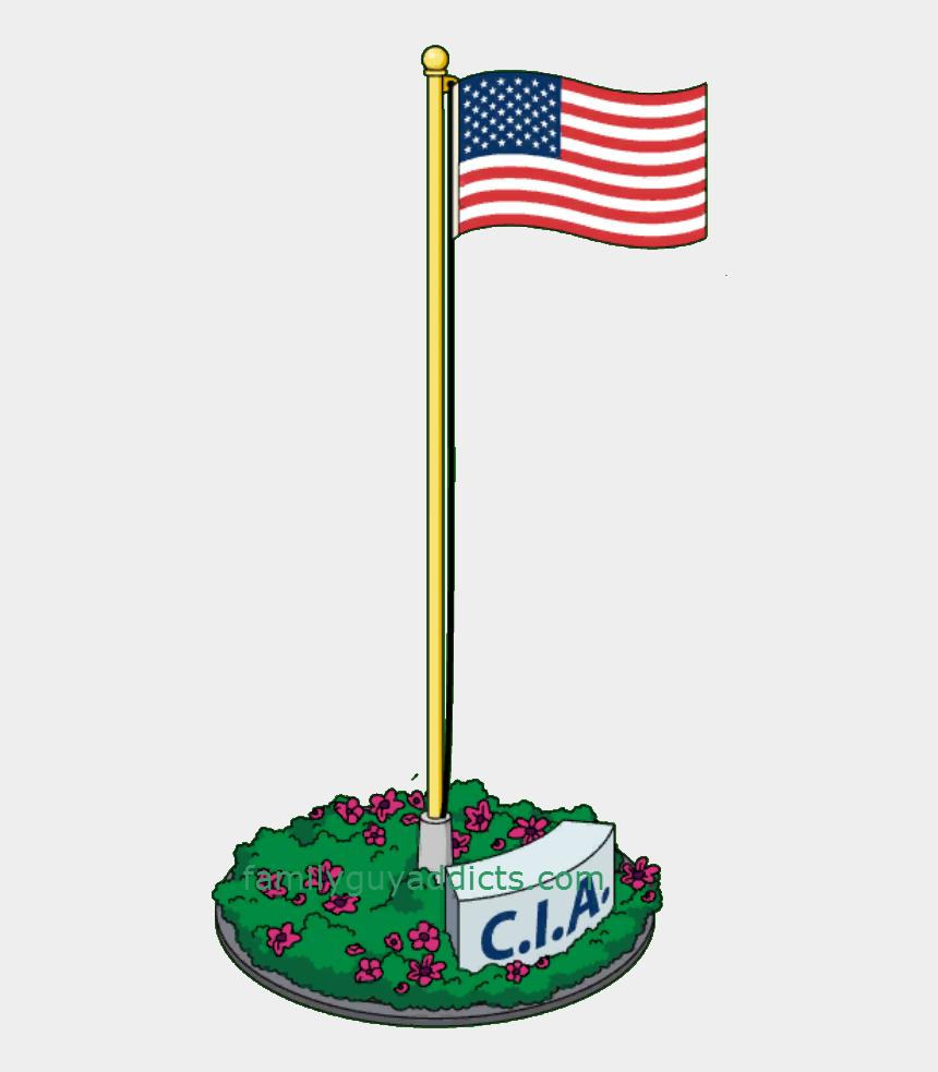american flag on pole clipart, Cartoons - Undercover American Flag - American Flag From American Dad