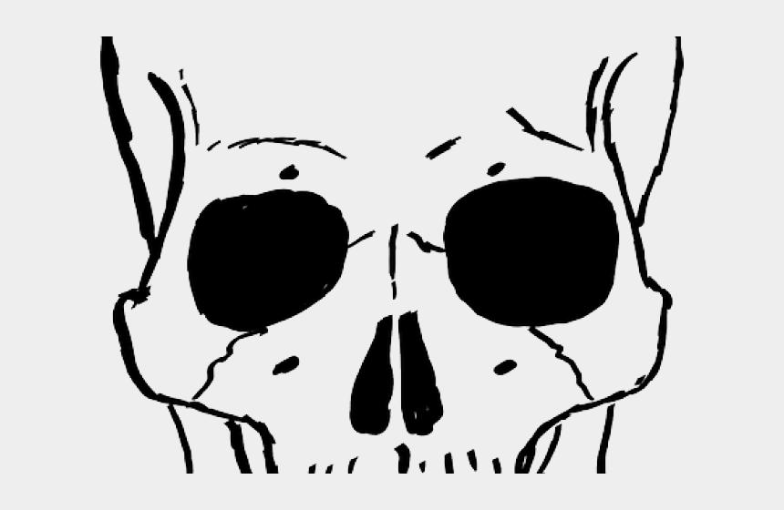 skeleton face clipart, Cartoons - Skeleton Head Clipart Skeleton Face - Skeleton Head Drawing Cartoon