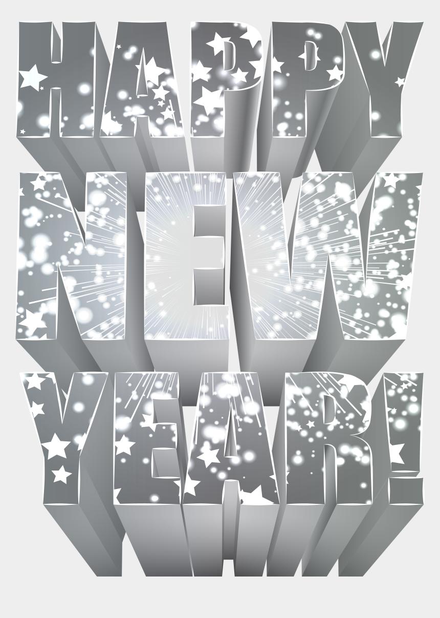 animated happy new year clipart, Cartoons - New Year Clip Art Png - Happy New Year Png Download