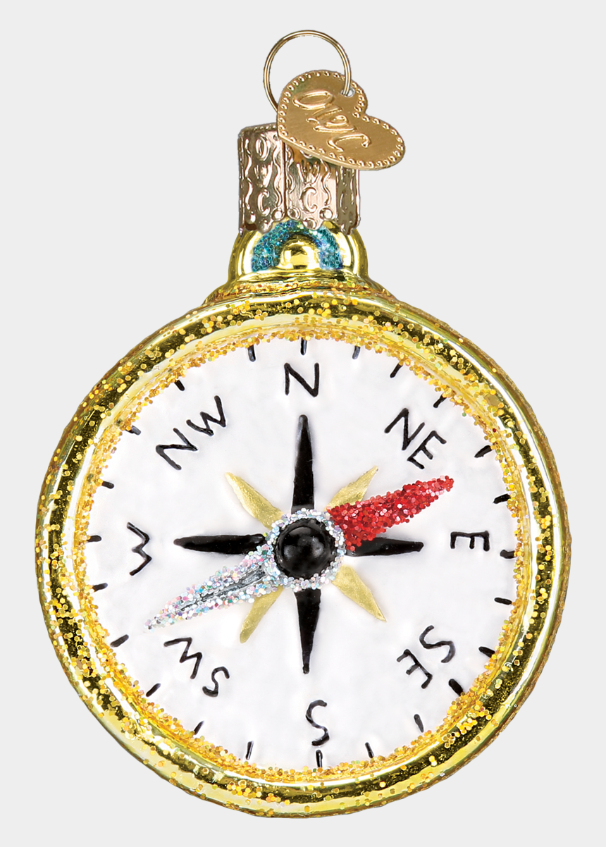vintage compass clipart, Cartoons - Compass Png Old - Christmas Ornament