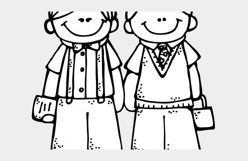 boulder clipart black and white, Cartoons - Friends Clipart Black And White - Friend Clipart Black And White