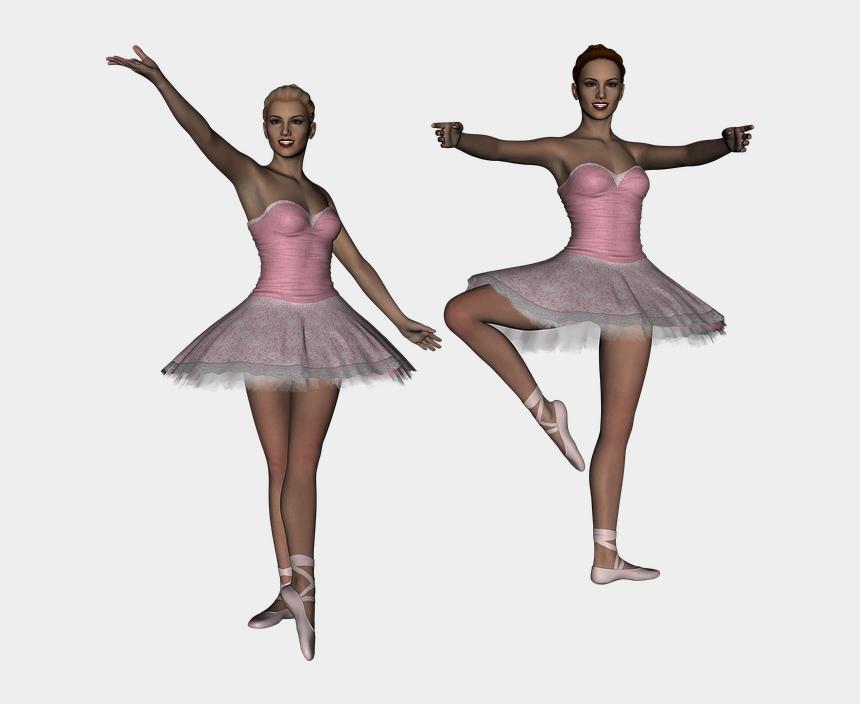 ballerina tutu clipart, Cartoons - Ballet, Ballerina, Dancer, Girl, 3d - Balé Bailarina