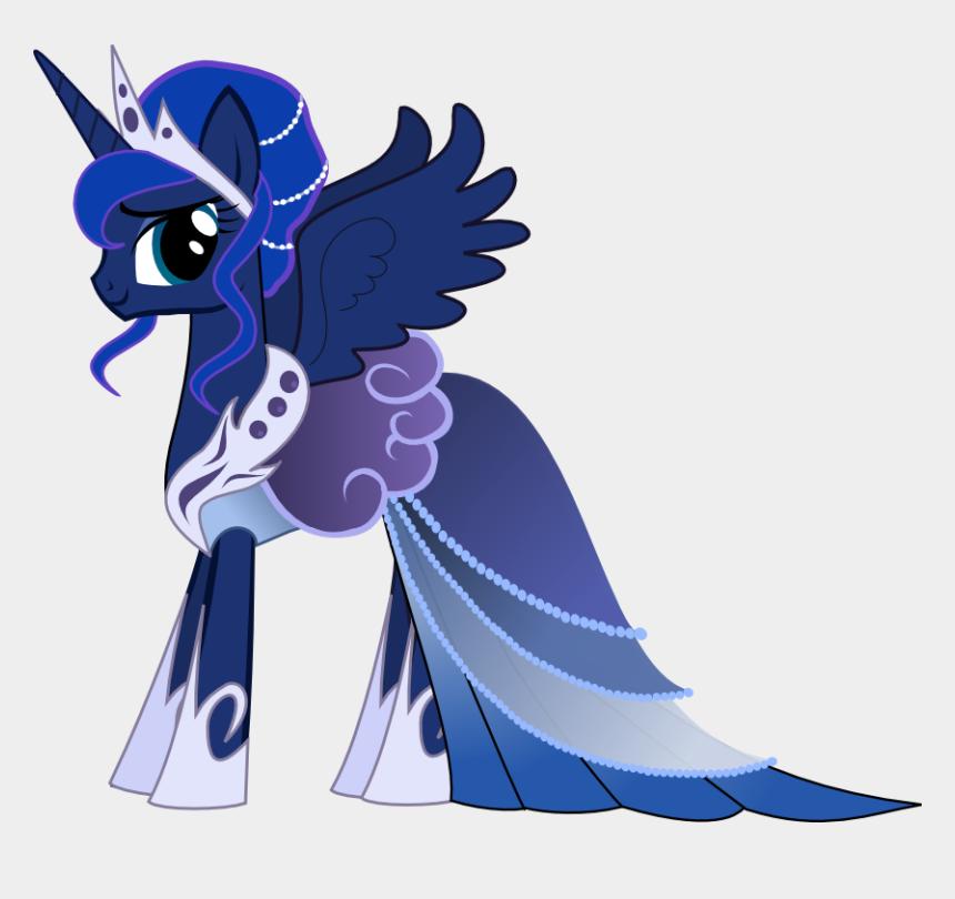 princess dress up clipart, Cartoons - My Little Pony - My Little Pony Princess Luna Dress