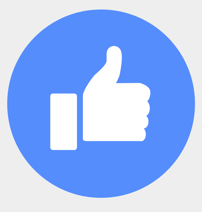 thumbs up clipart no background, Cartoons - Youtube Thumbs Up Button Png - Facebook Emoji Like Png