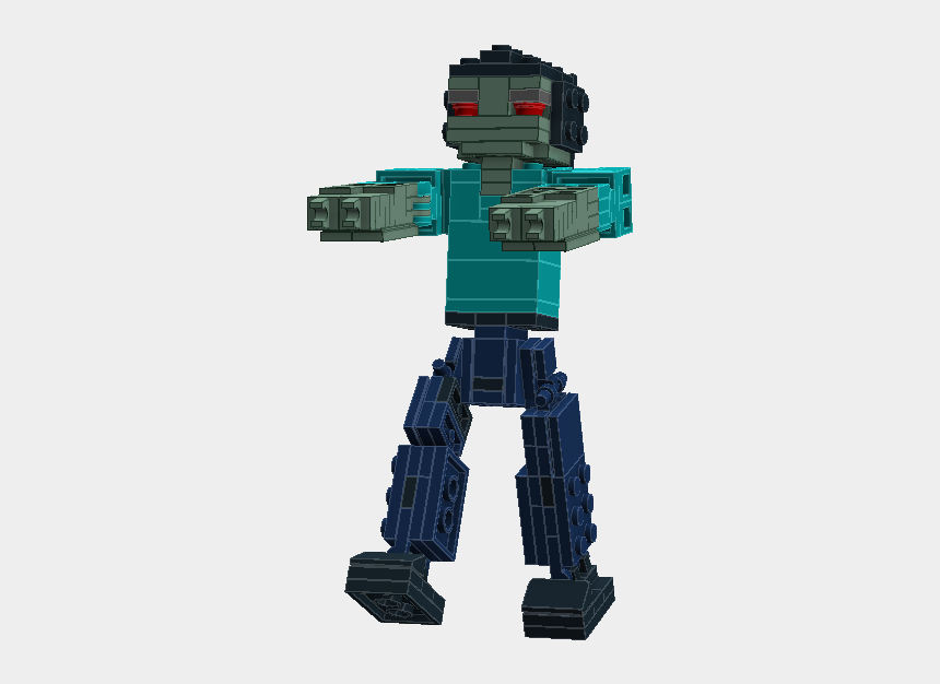 minecraft zombie clipart, Cartoons - Minecraft - Minecraft Skeleton
