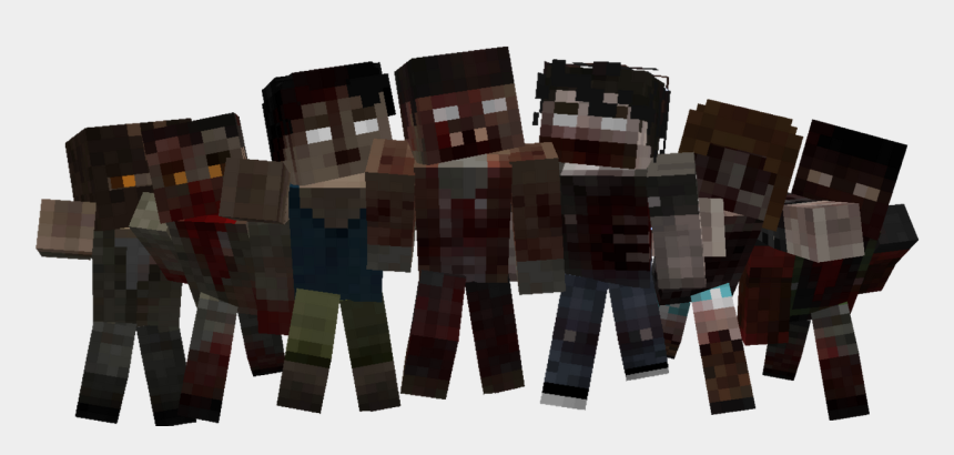 minecraft zombie clipart, Cartoons - English - - Hardwood