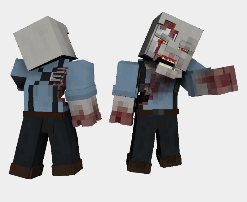 minecraft zombie clipart, Cartoons - F6cc52n - Zombie Hd Skin Minecraft