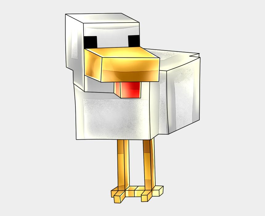 minecraft zombie clipart, Cartoons - Minecraft Clipart Chiken - Podium