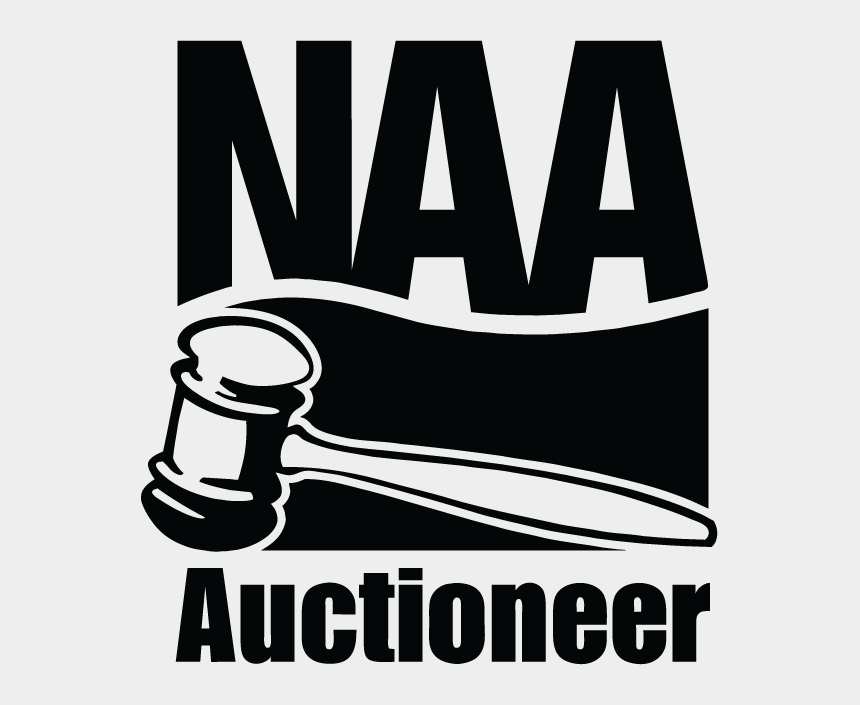 auction clipart black and white, Cartoons - Navigation - Naa Auctioneer Logo