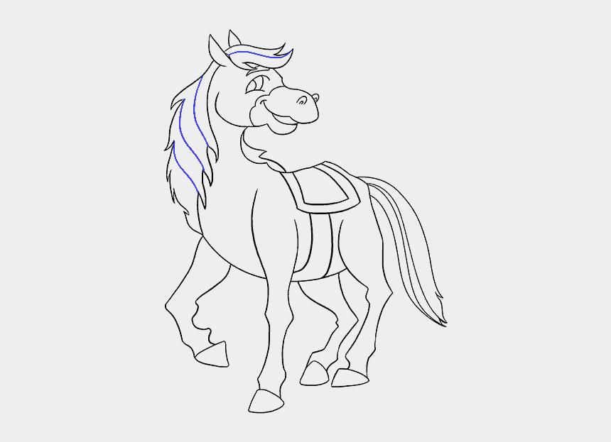 cartoon horses clipart, Cartoons - Horse Cartoon Drawing