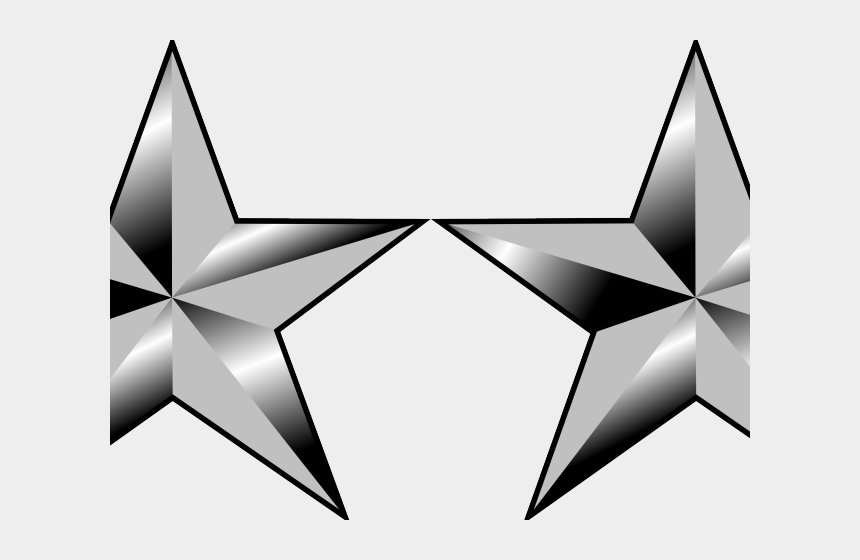 military star clipart, Cartoons - Military Stars Cliparts - 4 Star General Insignia