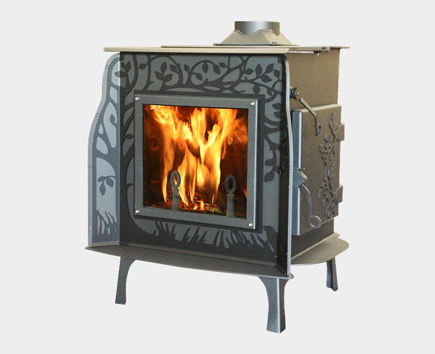 franklin stove clipart, Cartoons - Wildwood Noback - Wood-burning Stove