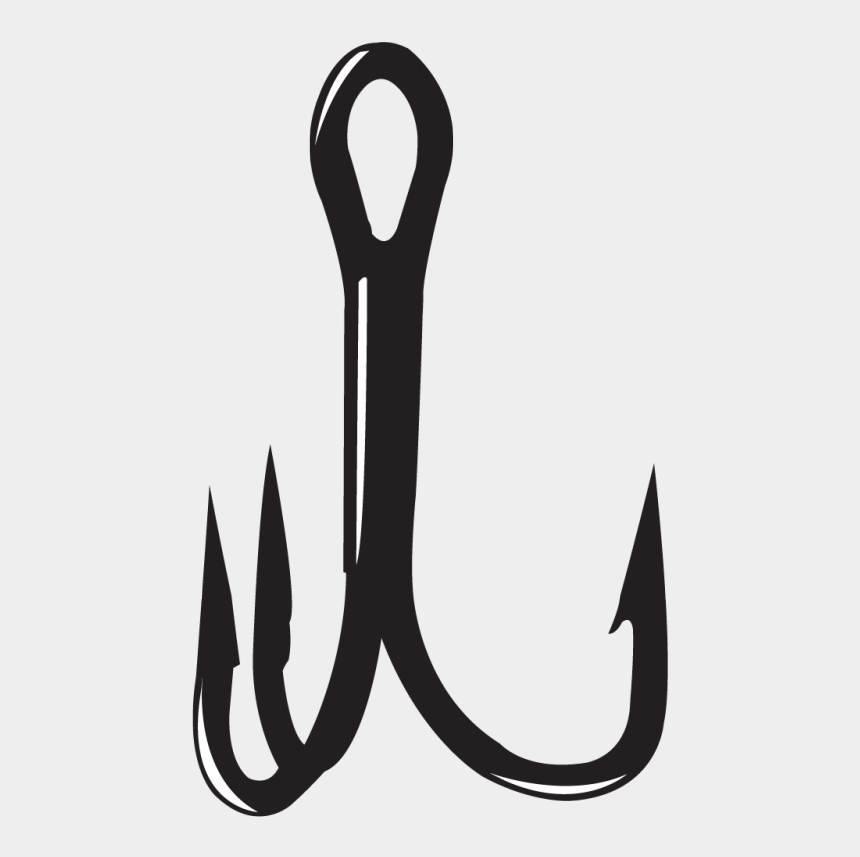 fishing hooks clipart, Cartoons - Treble Hook Png - Treble Hook Logo