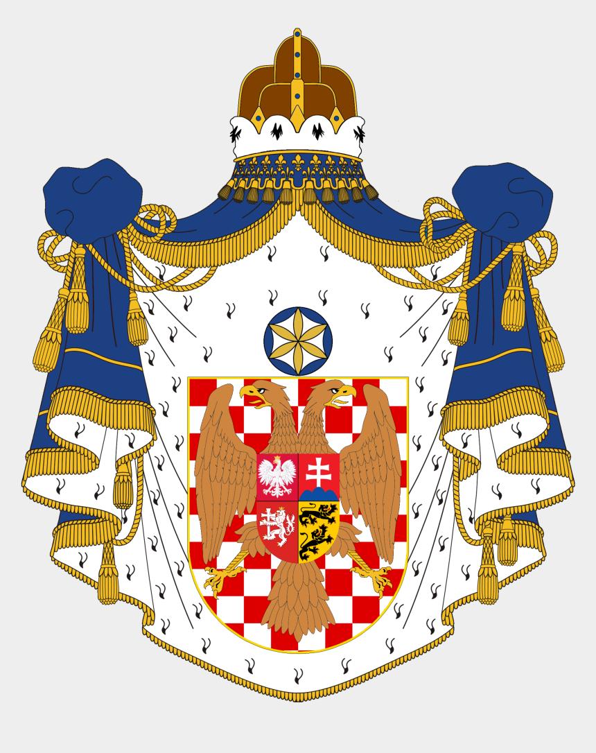 peace treaty clipart, Cartoons - Treaty Of Bratislava - Monarch Coat Of Arms