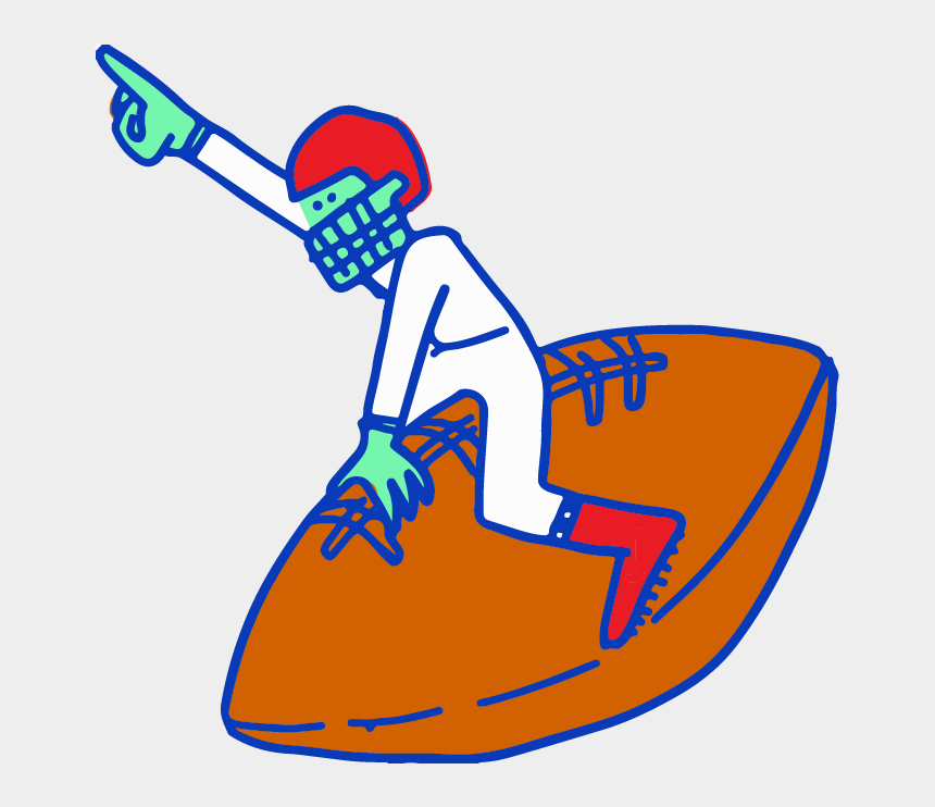 field goal post clipart, Cartoons - Next Up We Had Christian Mccaffrey Ask Kids To Bring
