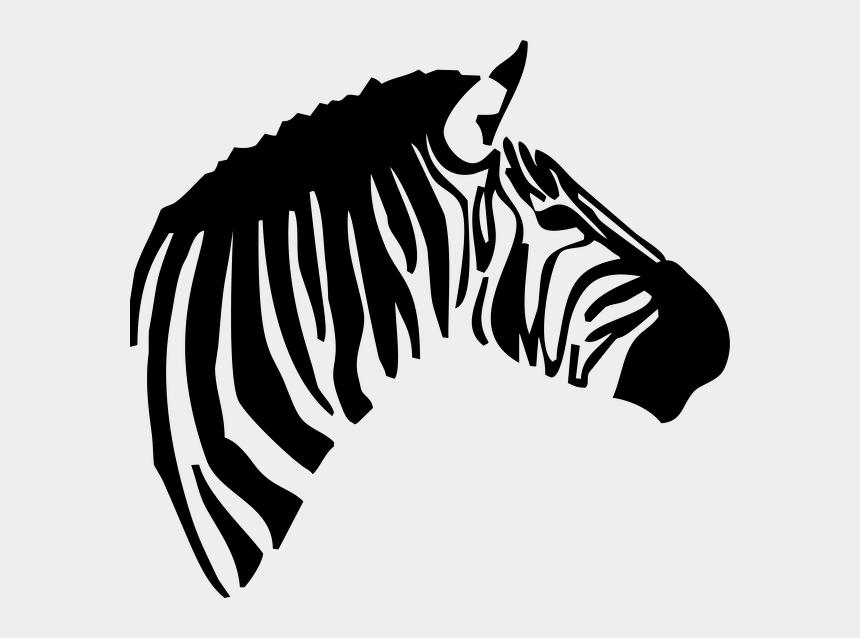 zebra animal clipart, Cartoons - Zebra Head Clipart
