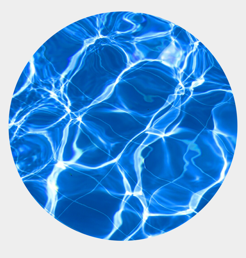 pool water clipart, Cartoons - #aesthetic #pool #water #circle - Aesthetic Blue Transparent Background