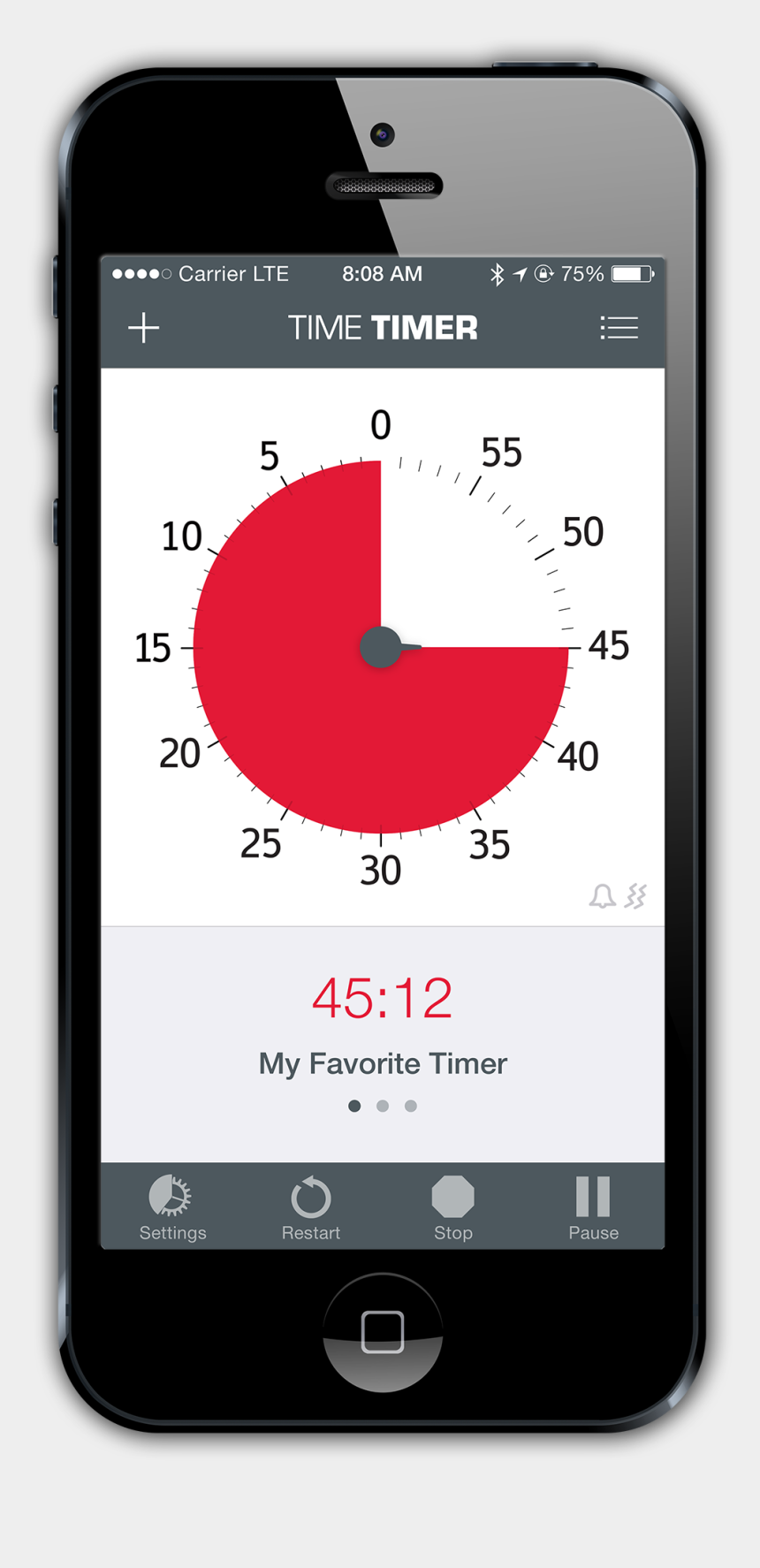 iphone app clipart, Cartoons - Iphone App Png 6 » Png Image - Time Timer App