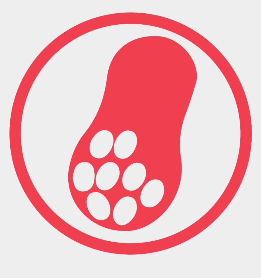 peanut allergy clipart, Cartoons - Peanut Allergy Red Icon - Peanut Allergy Png