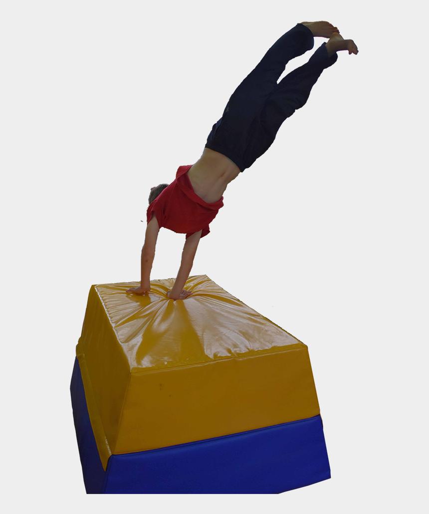 gymnastics splits clipart, Cartoons - Freeg Fuses Traditional Gymnastics And Acrobatic Tricks, - Acrobatics