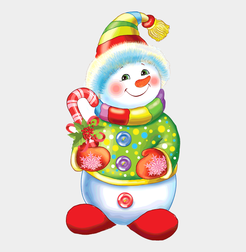 baby snowman clipart, Cartoons - Le Clown, Vintage Christmas, Vintage White Christmas, - Colorful Snowman