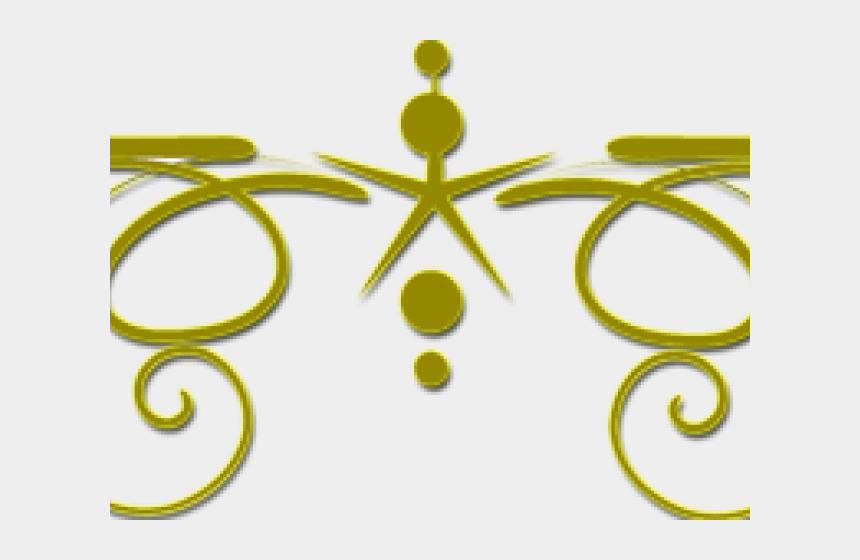 decorative lines clipart, Cartoons - Decorative Line Gold Clipart Lines Png - Decorative Gold Line Png