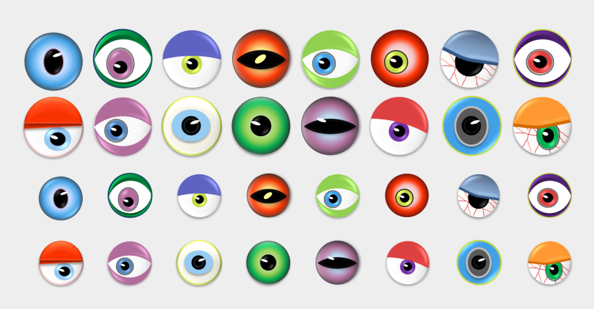 monster eye clipart, Cartoons - Monster Eye Ball Clip Art