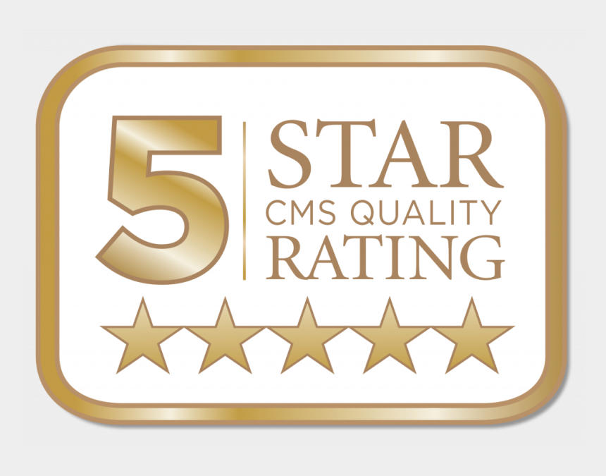 5 star rating clipart, Cartoons - 5 Star Cms Quality Rating