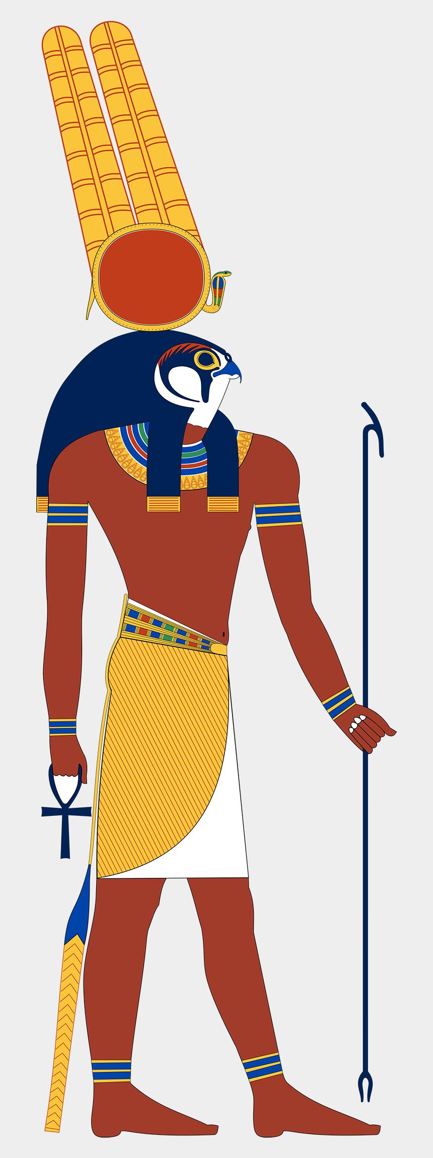 greek god atlas clipart, Cartoons - Egyptian War God Montu - Egyptian God Khnum