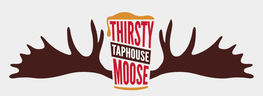 moose tracks clipart, Cartoons - Craft Beer, Great Food, And Live Entertainment - Thirsty Moose Manchester