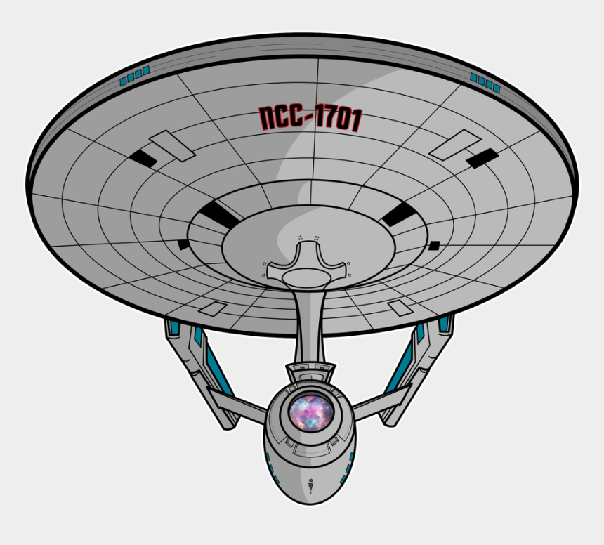 starship enterprise clipart, Cartoons - The Uss Enterprise - Star Trek Red Dwarf