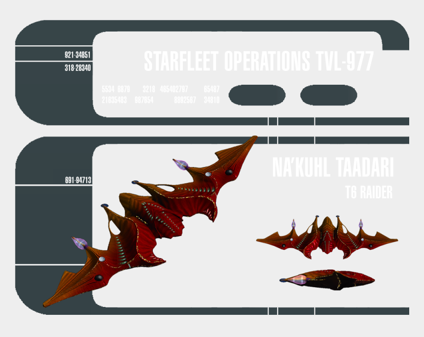 starship enterprise clipart, Cartoons - Na'kuhl Ships Are Known For Their Speed, Agility And - Star Trek Gemini Class