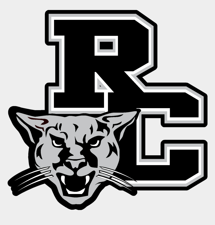 cougar black and white clipart, Cartoons - Rockingham County Cougars - Rockingham County High School Cougars