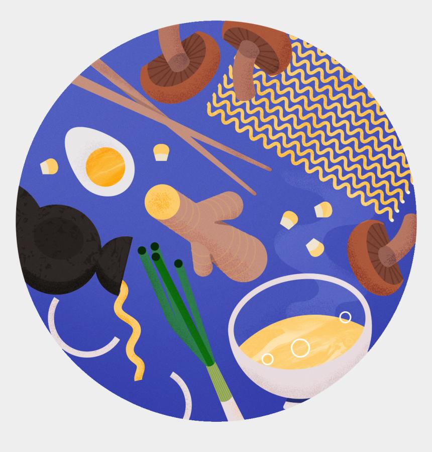 ramen noodles clipart, Cartoons - Favourite Food - Illustration