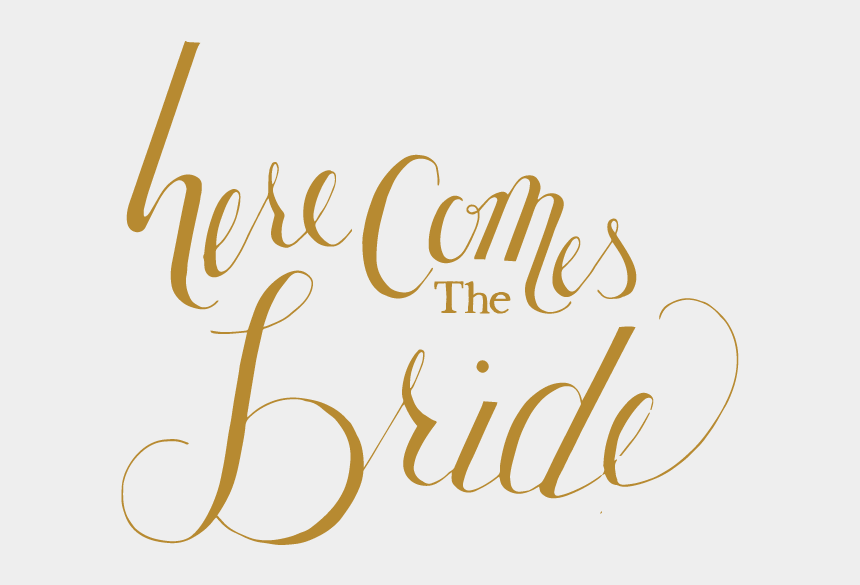 here comes the bride clipart, Cartoons - Tte Here Comes The Bride Solo - Here Comes The Bride Png