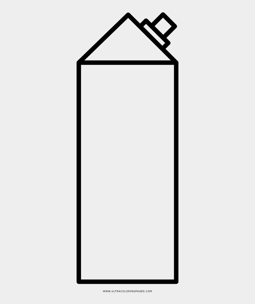 juice carton clipart, Cartoons - Juice Carton Coloring Page - Line Art
