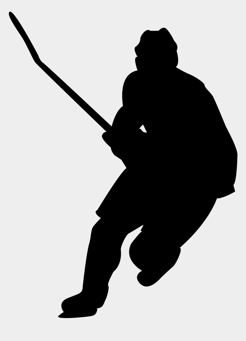hockey player shooting clipart, Cartoons - Who Is The Unknown Hockey Player - Transparent Hockey Player Silhouette Png