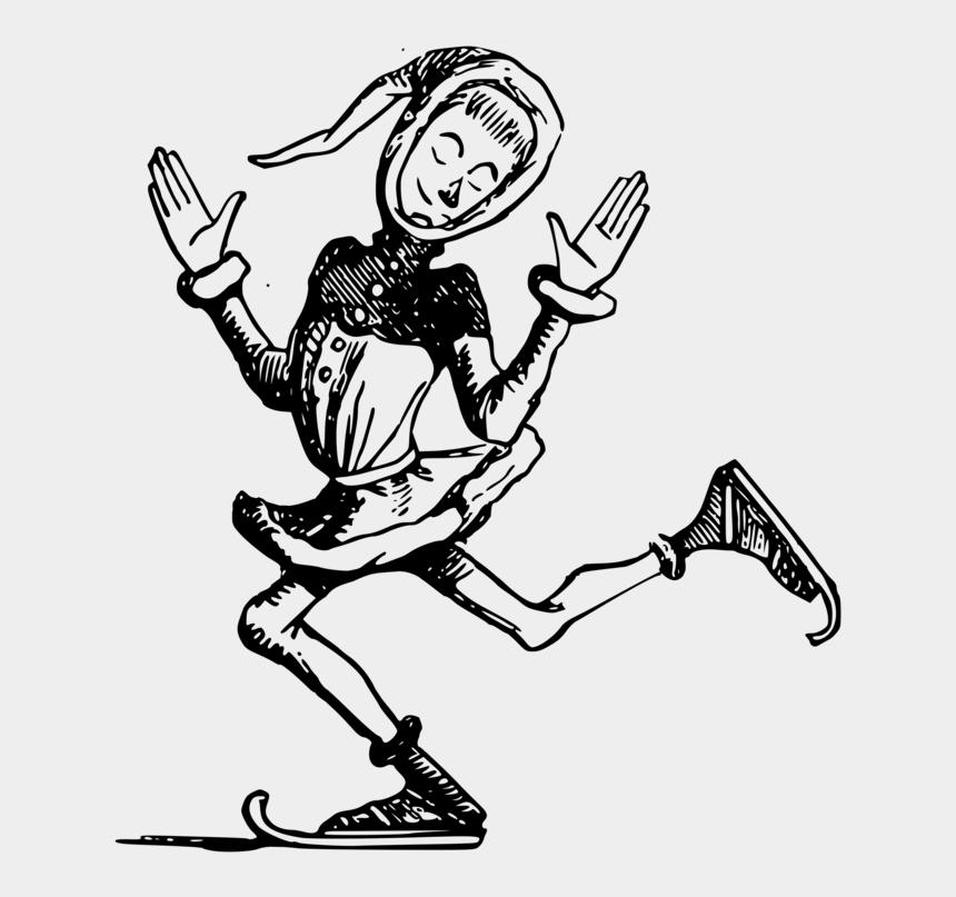 figure skate clipart, Cartoons - Skates Drawing Figure Skating - Ice Skating