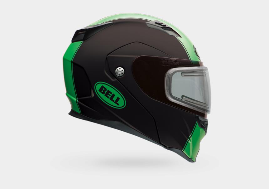 racing helmet clipart, Cartoons - Helmets For Motorcycles Bell - Bell Revolver Evo Green