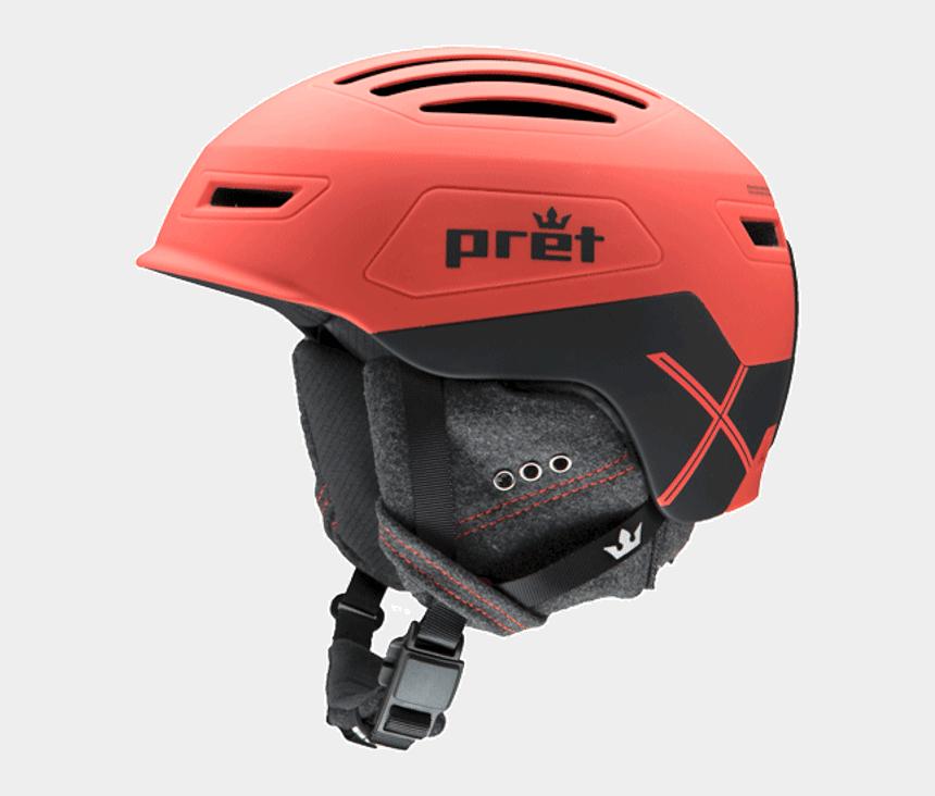 racing helmet clipart, Cartoons - Cirque X - Pret Helmets - Pret Ski Helmet