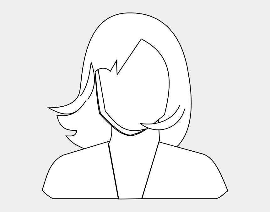 woman head clipart, Cartoons - Cartoon