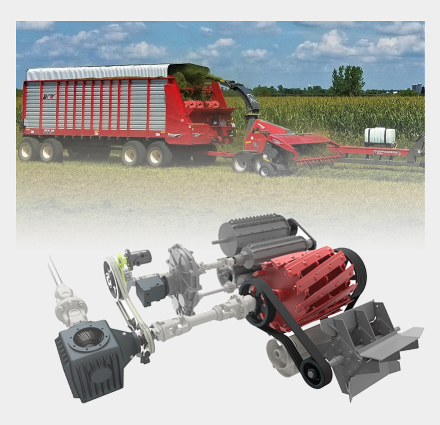 combine harvester clipart, Cartoons - Without Abrupt Change In Direction & Without Energy - Tractor