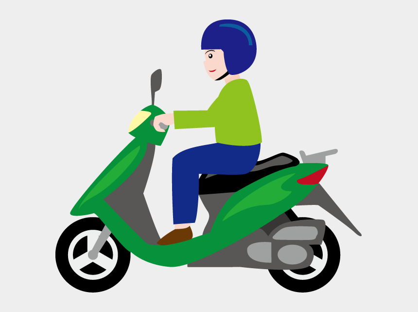 motor bike clipart, Cartoons - Picture Transparent Download Scooter Clipart Motobike - Two Wheeler Png