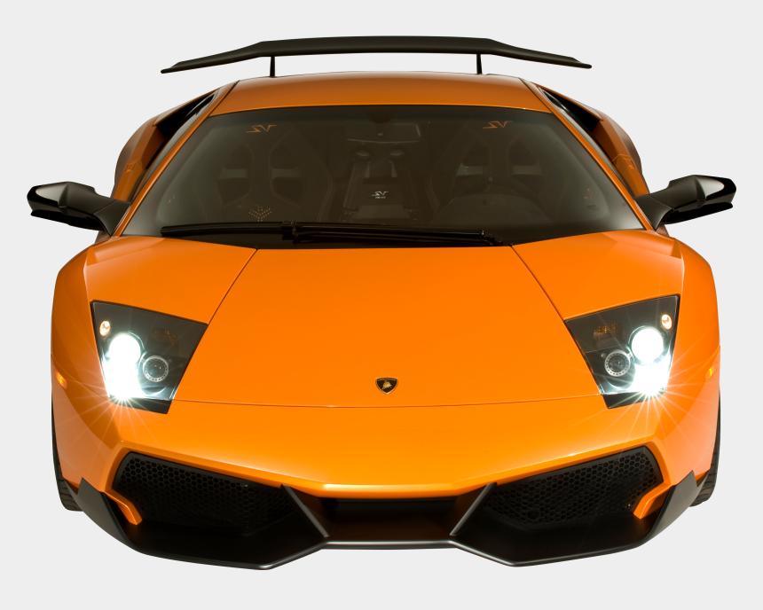 clipart lamborghini, Cartoons - Lamborghini Murcielago Sv Front