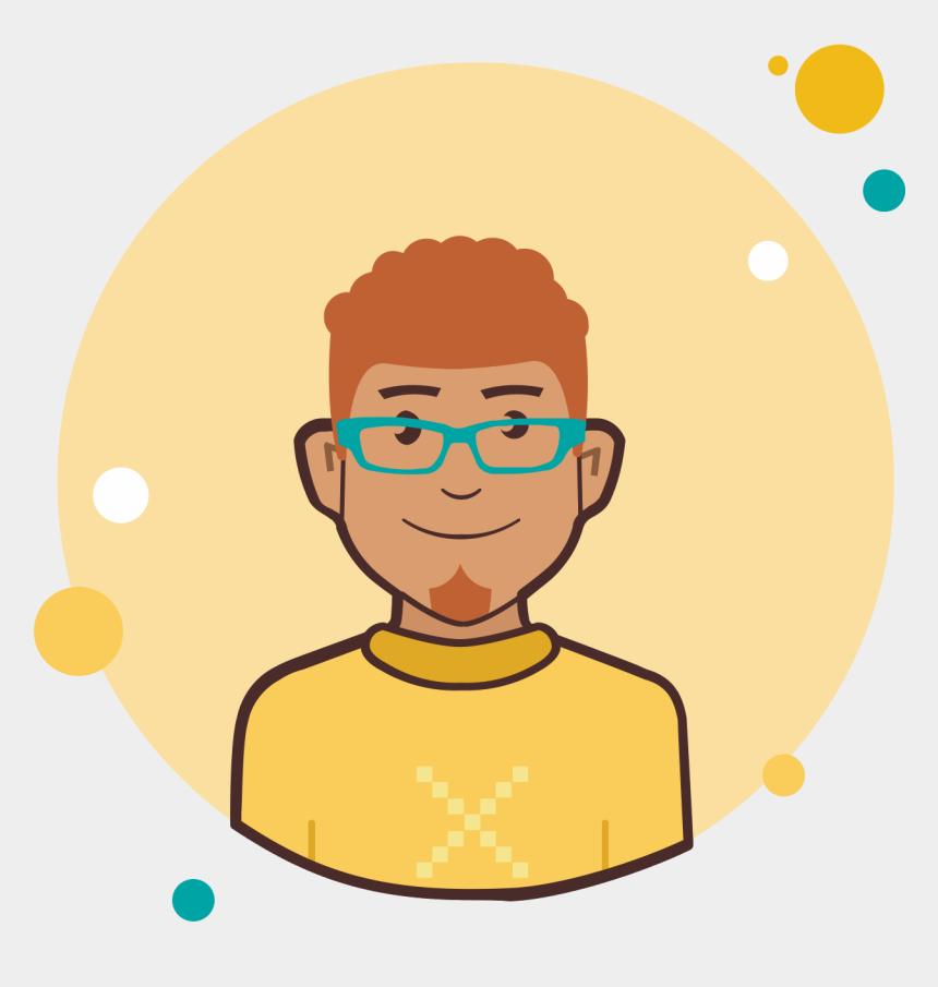 ginger clipart, Cartoons - Ginger Vector Illustration - Avatar User