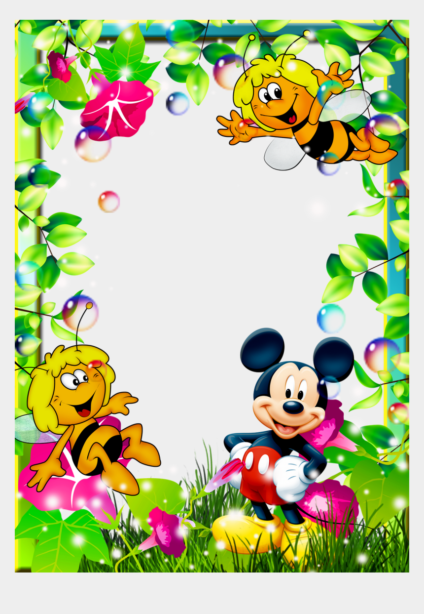 disney border clipart, Cartoons - Bb Page Borders Design, Border Design, School Border, - Borders And Frames Mickey Mouse