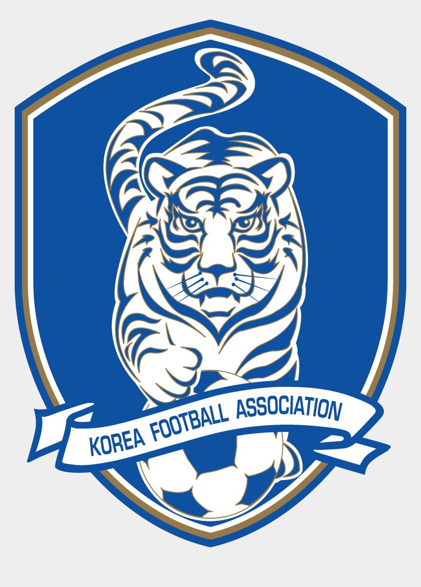 korea flag clipart, Cartoons - Korea Football Association & South Korea National Football - South Korea Football Logo
